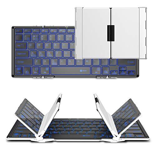 51KJXnhZ8pL-折り畳み式フルキーボードの「iClever  IC-BK05」を購入したのでレビュー!小さくなるのはやっぱ便利です。