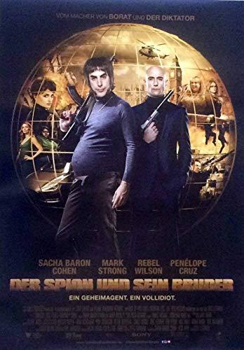 Der Spion und sein Bruder - Sacha Baron Cohen - Filmposter 37x53cm gerollt