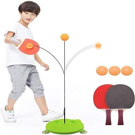 卓球練習 ピンポントレーニング 一人で練習できる卓球マシン 卓球トレーナーキット 減圧運動 高さ調節可能 ストレス解消 持ち運びしやすい子供の調整 反応 能力に適した 家庭用練習機 12本セット
