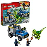 LEGO Juniors/4+ Jurassic World Raptor Rescue Truck 10757 Building Kit (85 Pieces) (Discontinued by Manufacturer)