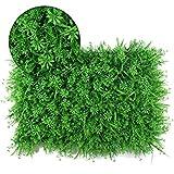Xiaolin Pantalla Artificial de plástico Fondo del jardín del Rodillo Pared Paisaje Planta Pared del Ornamento del jardín del césped de la Cerca (Color : C)
