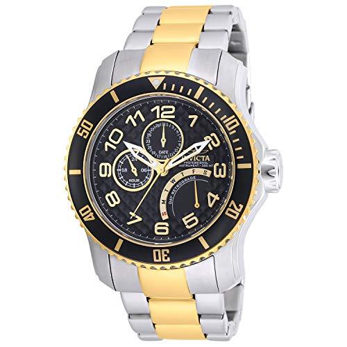 Invicta 17355 Pro Diver Herren-Armbanduhr, analog, Japanisches Quarzuhrwerk, zweifarbig