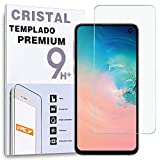 REY Protector de Pantalla para Samsung Galaxy S10e, Cristal Vidrio Templado Premium