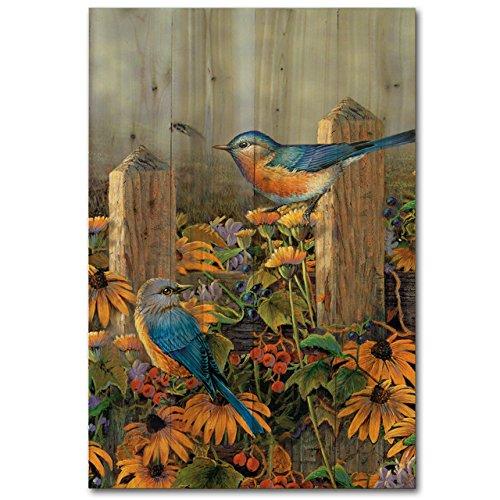 WGI Gallery WA-LBB-812 Linda's Bluebirds Wall Art