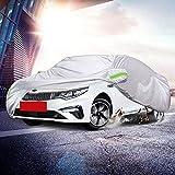 LLSS Cubierta para automóvil Todoterreno SUV Cubierta para vehículo Tienda de toldo para automóvil de Tela Oxford Espesada - Impermeable Resistente al Viento Resistente a los araña