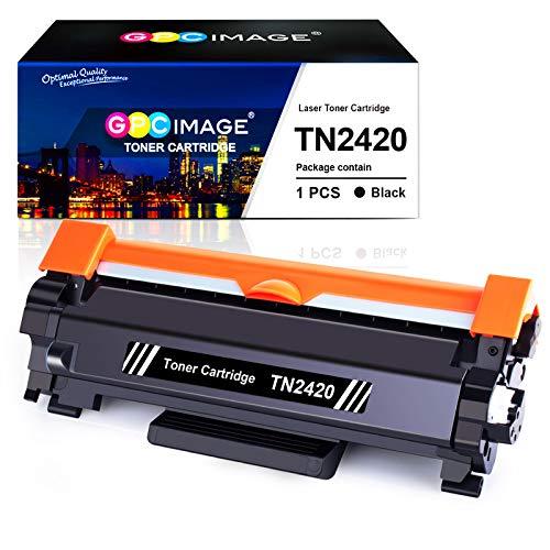 GPC Image TN2420 TN-2420 Kompatible Tonerkartuschen, Ersatz für TN2410 TN-2410 für Brother HL-L2350DW MFC-L2710DW DCP-L2510D DCP-L2530DW HL-L2375DW HL-L2370DN L2310D MFC-L2730DW, Schwarz, 1 Stück