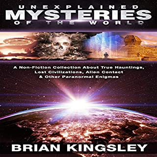 Unexplained Mysteries of the World audiobook cover art