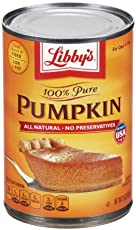 Libby's 100% Pure Pumpkin, 15oz Can (Pack of 4)