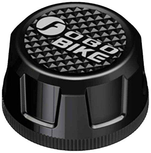 FOBO FB1574 - Sistema de monitorización de presión para bicicleta (Bluetooth, TPMS), color negro