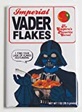 Star Wars'Darth Vader Flakes Cereal Box' Fridge Magnet (2 x 3 inches)