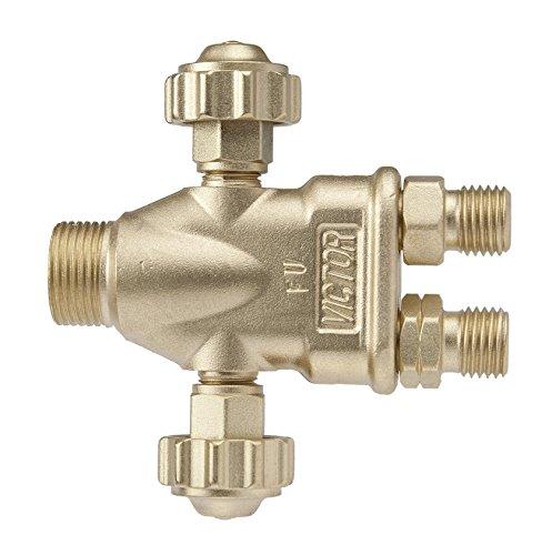 ESAB Victor Technologies 0382-0006 J-40 J Series Standard Light Duty Torch Handle, 3.75' (95.3 mm) Length