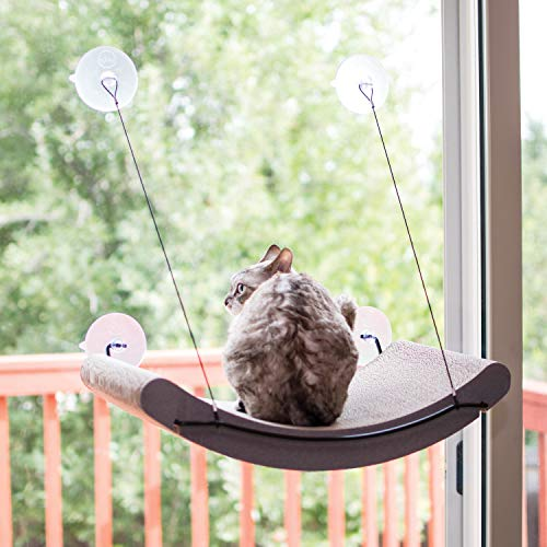 K&H Pet Products EZ Mount Scratcher Kitty Sill Cradle | Chewy