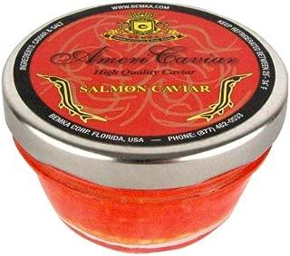 Bemka.com American Salmon Wild Caviar, 2008, 4 ounces Jars