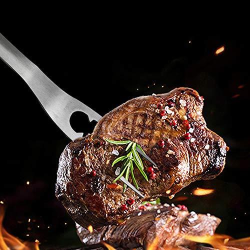 51KJfzSD5qL. SL500  - TRGCJGH BBQ Grill Tool Set 24-teiliges Edelstahl-Grillzubehör Im Aluminiumgehäuse Premium Complete Christmas Und Outdoor BBQ Utensil Set
