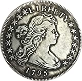 QiQiFanFan Best Morgan Silver Dollars-1795 Coin Collecting-Silver Dollar USA Old Original Pre Morgan Dollar