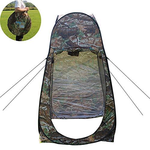 QZH Camp Douche Tente, Pop Up Confidentialité Tente Easy Set Up Pliable avec Sac De Transport Léger Et Robuste, Camp Toilettes Chambre Changement pour Le Camping Et La Plage