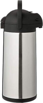 METRO Professional Airpot Pumpkanne | 3 Liter | Isolierkanne | Thermoskanne | Getränkespender | auch für den gewerblichen Einsatz | Edelstahl | Kaffeekanne preisvergleich bei geschirr-verleih.eu