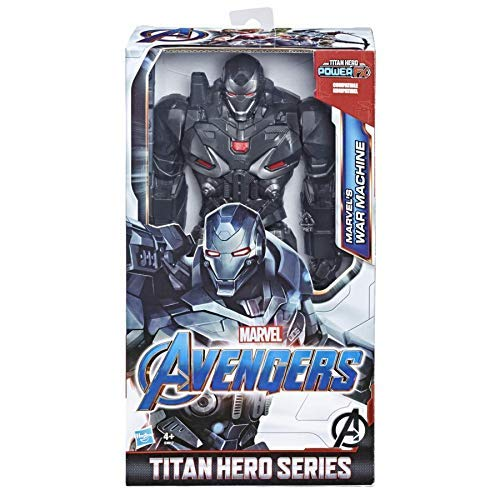 Marvel Avengers: Endgame - War Machine Titan Hero Deluxe compatibile con Power FX (Action Figure da 30 cm, Power FX non incluso)