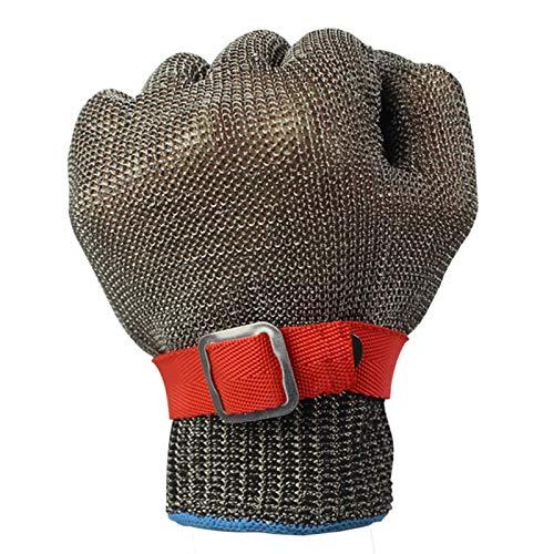 Schnittfeste Handschuhe Schnittbeständiger Handschuh Edelstahl-Netzmesser Schnittbeständiger Schutzhandschuh, Sowohl Linke Als Auch Rechte Hand Können Verwendet Werden (Size : Medium)