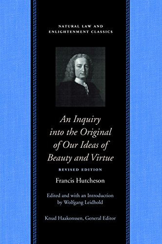 Hutcheson, F: Inquiry into the Original of Our Ideas of Beau (Natural Law)