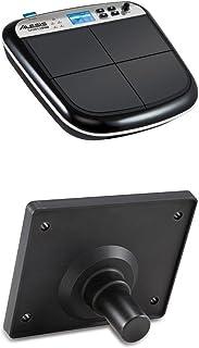 Alesis Sample Pad - Instrumento multi-pad y controlador MIDI y disparar samples y ranura para tarjeta SD/SDHC + Module Mount - Placa de montaje universal para multi-pads de percusión