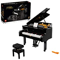 Drum roll please as we proudly introduce the first-ever, playable LEGO Grand Piano; Experience the hands-on pleasure of creating a highly sophisticated LEGO concert piano model and then play beautiful music with it The LEGO Ideas Grand Piano (21323) ...