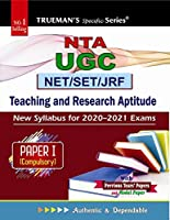 Trueman's UGC NET/SET General Paper I - Teaching & Research Aptitude 2020 Edition
