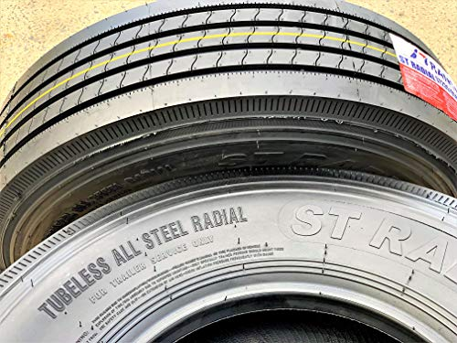 Set of 2 (TWO) TransEagle ST Radial All Steel Heavy Duty Premium Trailer Tires-ST235/85R16 132/127M LRG 14-Ply