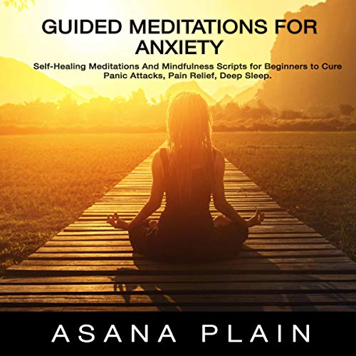 Guided Meditations for Anxiety Titelbild