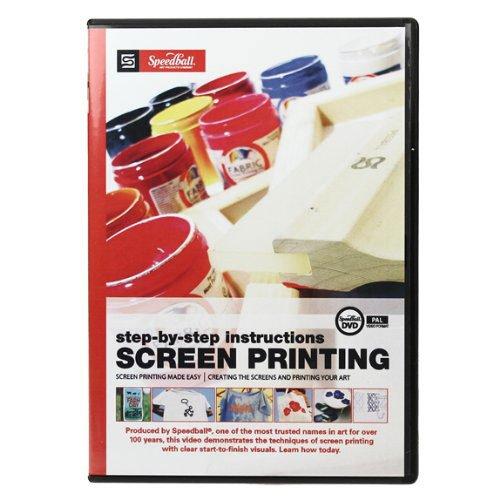 Speedball Nieuwe scherm afdrukken Instructionele DVD (PAL Version)