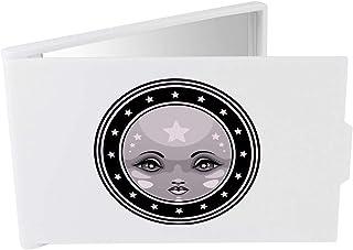 'Full Moon Emblem' Compact / Travel / Pocket Makeup Mirror (CM00024355)
