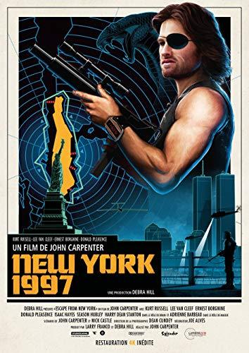 New-York 1997 - Affiche de Cinéma Originale (Ressortie) - 40x60 cm - Roulée
