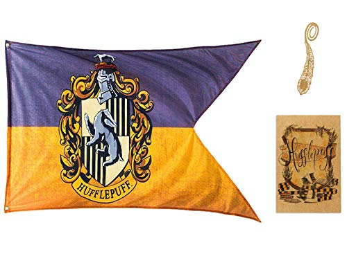 birthday decor for harry flag potter Wall Banner, gryffindor | hufflepuff | ravenclaw | Casa Slytherin bandera de decoración (70X125CM)