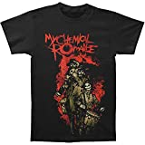 My Chemical Romance Boys' Snare Tour T-Shirt Youth Large Black