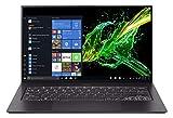 Acer Swift 7 SF714-52T-7537 Notebook portatile, Intel Core i7-8500Y, Ram 16GB, 512 GB SSD, Display Multi-touch 14' FHD IPS LED LCD, Grafica Intel UHD 615, PC Portatile, Windows 10 Professional, Nero