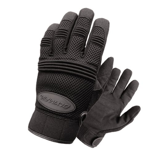 Olympia 760 Air Force Gel Motorcycle Sport Gloves (Black, X-Large)