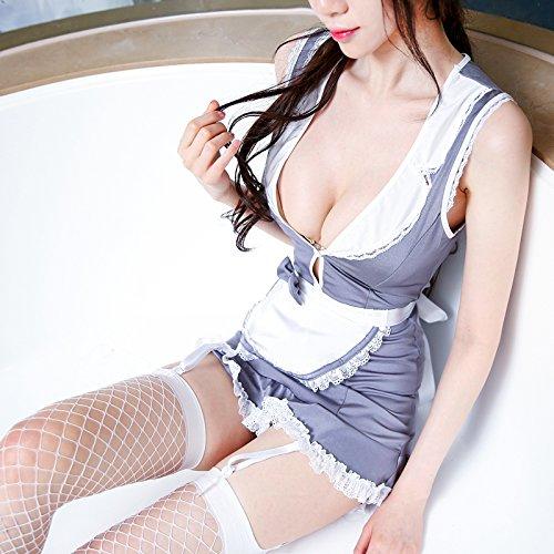 Roleeplay sexy lingerie, sexy meisjes, pakken, nachtclubs, prinses uniforms, meid rollen, Suspenders, slipjes, rokken F