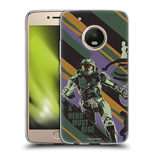 Head Case Designs Officially Licensed Xbox Game Studios Halo Infinite Believe 20th Anniversary Soft Gel Case Compatible with Motorola Moto G5 Plus