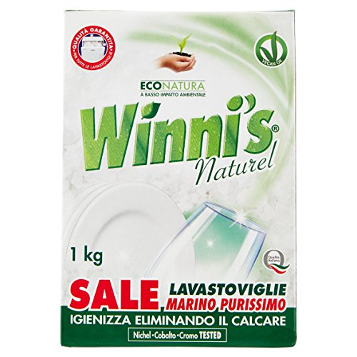 Winni's - Sale Lavastoviglie, Marino Purissimo - 6 pezzi da 1 kg [6 kg]