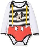 Disney Mickey 160604, Body Bébé Fille, Blanc (Blanc), 1 An (Taille Fabricant: 1 An)
