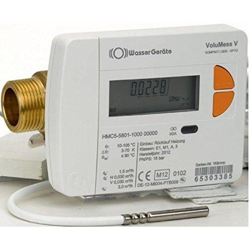 Wärmezähler VoluMess V Qn 1,5 - DN 15 - G 1/2