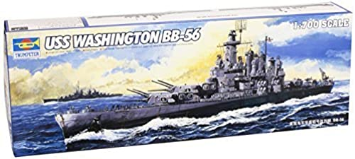 Trumpeter 5735 Model Ship USS Washington (BB-56) by Trumpeter