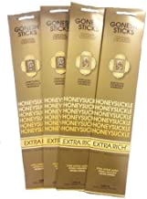 Gonesh Incense Sticks - Honeysuckle lot of 4