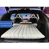 Auto materasso gonfiabile con 2cuscini d' aria e pompa d' aria per dormire viaggi, campeggio, auto gonfiaggio aria letto per Tesla Model x 6posti