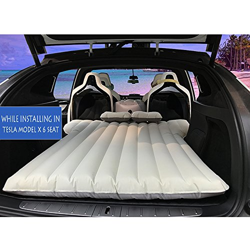 Model X 6 seater Auto Luftmatratze, aufblasbare camping matratze, Inflatable Mattress Air Bed, Car Air Mattress Travel Bed, Aufblasbares Luftmatratze pool Matratzen für Reisen Camping Rest Sofa