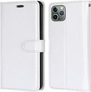 Laybomo Carcasa para Apple iPhone 11 Pro MAX Tapa Funda Cuero Estilo-Sencillo Monederos Billetera Bolsa Magnética Protecto...