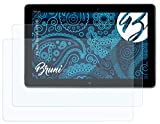 Bruni Schutzfolie kompatibel mit Asus VivoTab TF810C Folie, glasklare Bildschirmschutzfolie (2X)