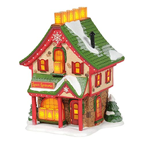 Department 56 North Pole Series Luna's Luminaries Lighted Building, 6.42 in H 56 North Pole Series