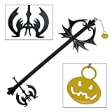 Pumpkin Hearts Oblivion Kingdom Keyblade Metal Replica Sword