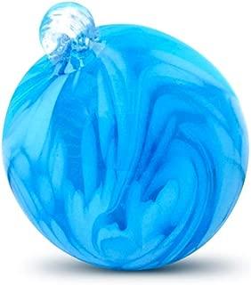 Trademark Innovations Garden Art Glass Ball Ornaments (Blue)